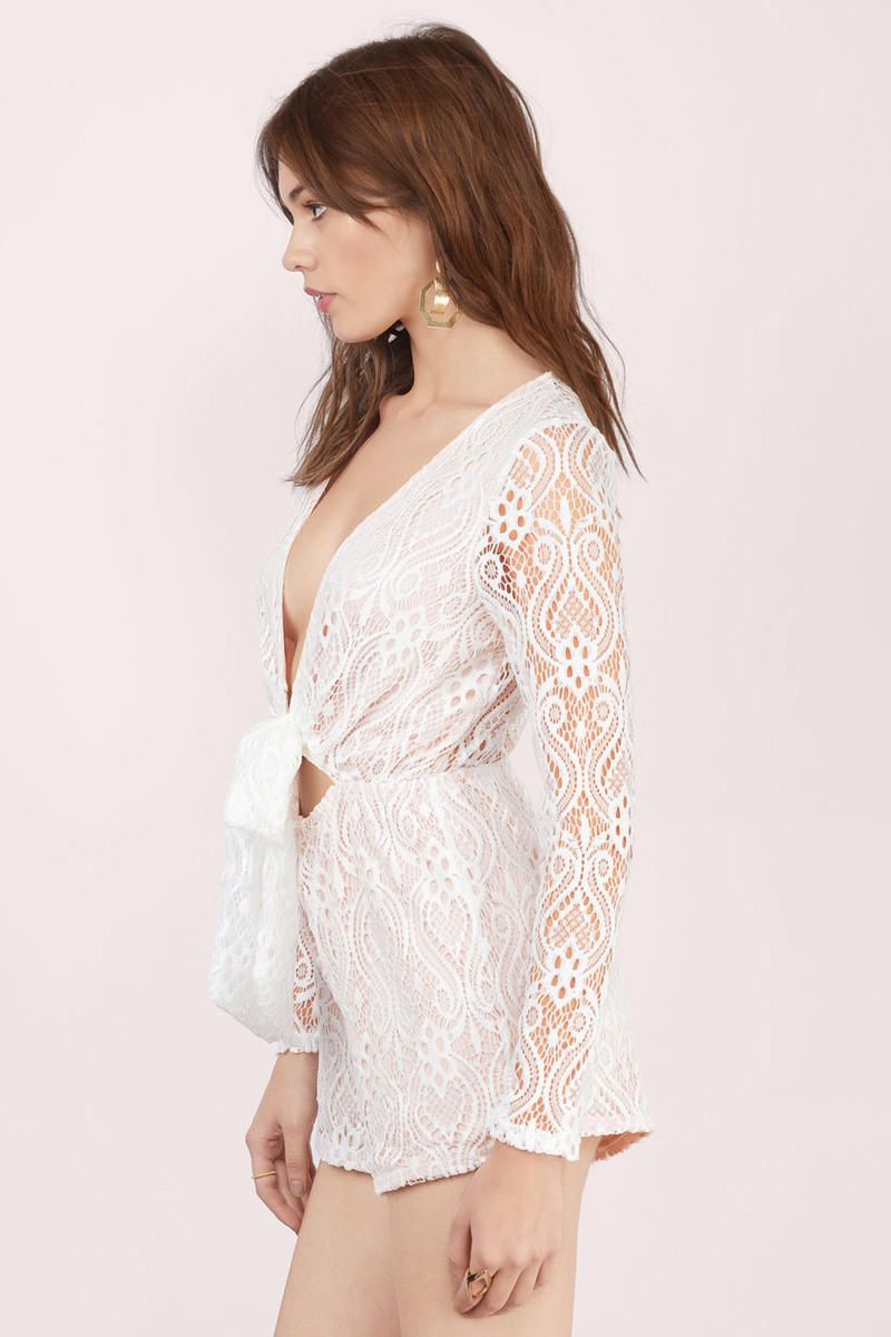 Everything In Lace Romper