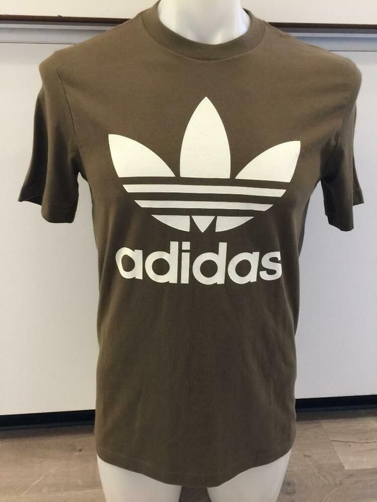 ff096ff9d ADIDAS ORIGINALS TREFOIL OLIVE GREEN GRAPHIC TEE T SHIRT MENS SIZE LARGE  NWT #fashion #clothing #shoes #accessories #mensclothing #shirts (ebay link)