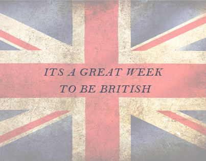 Today's blog is all about why there is no better time to be British...  http://blog.coxandcox.co.uk/