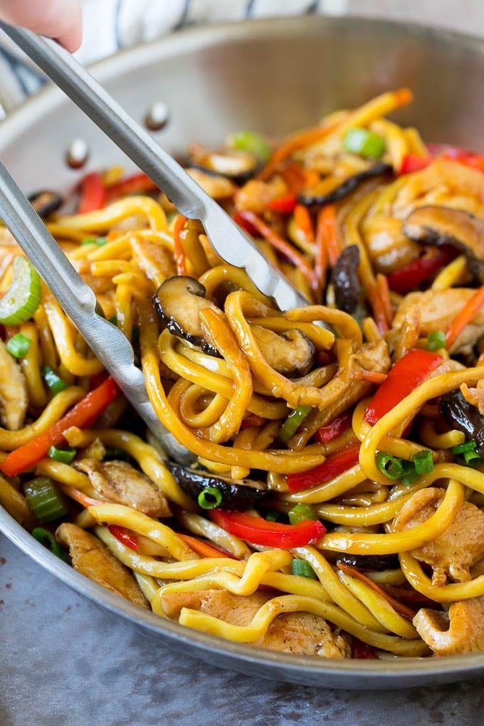 stir fry noodles recipe  noodle stir fry chicken