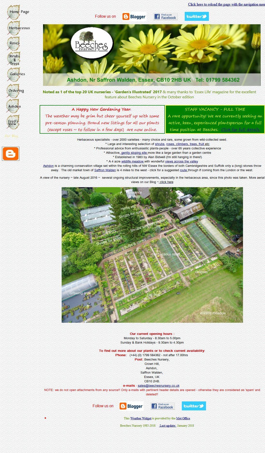 Beeches Garden Centres & Nurseries Village Centre Ashdon