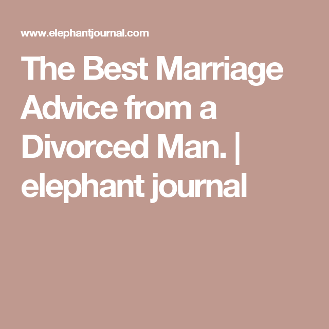 Advice for dating a divorced woman