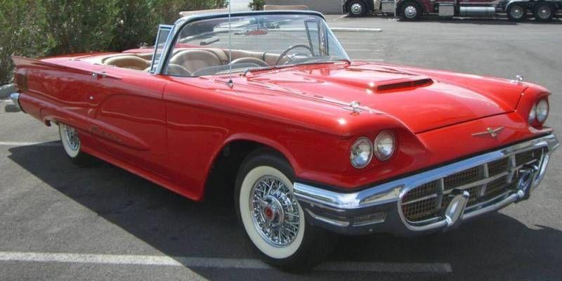 Red 1960 Ford Thunderbird Convertible & Red 1960 Ford Thunderbird Convertible   I love US - Cars ... markmcfarlin.com