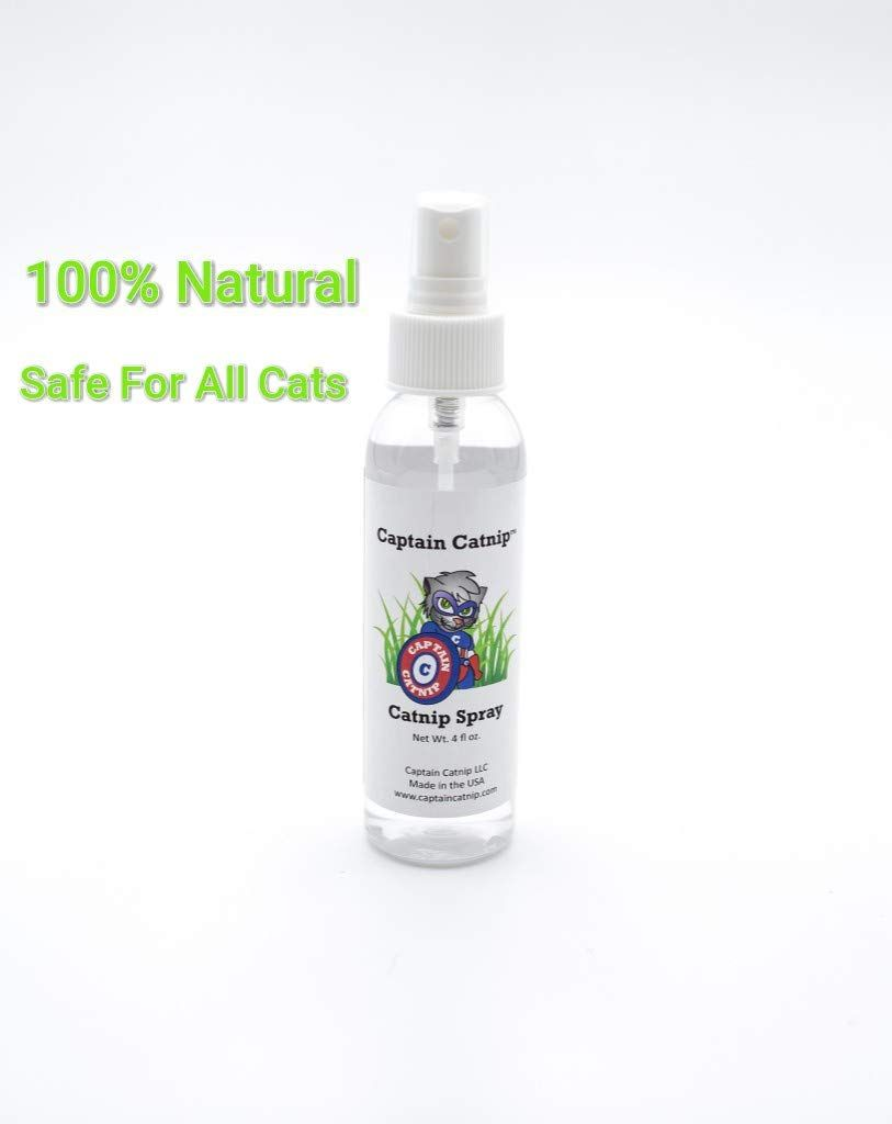 Captain Catnip Organic Liquid Fresh Extract Spray For Cats Nepeta