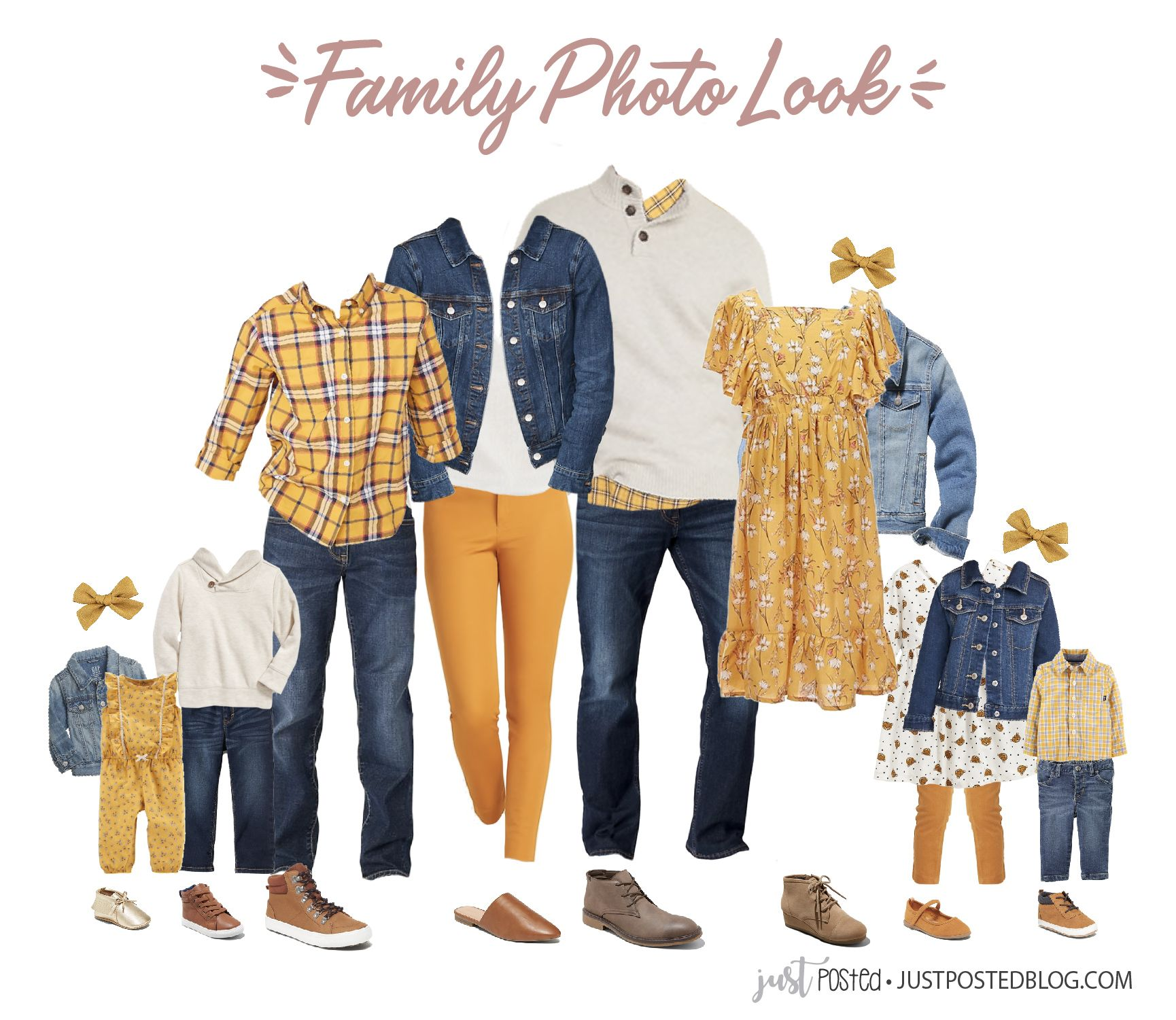 What to Wear for Family Photos: Fall and Christmas Family Picture Ideas