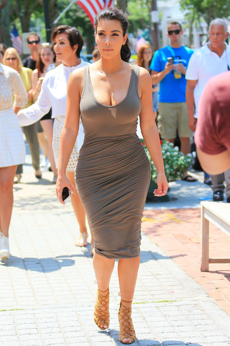 Ass In Dress 10 jersey dresses to make your life easier   kardashian