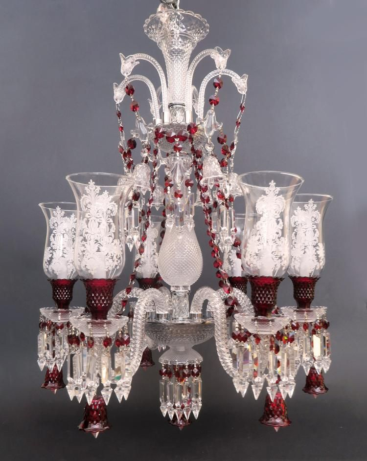 Buy online view images and see past prices for stunning 6 light buy online view images and see past prices for stunning 6 light chandelier probably baccarat aloadofball Gallery
