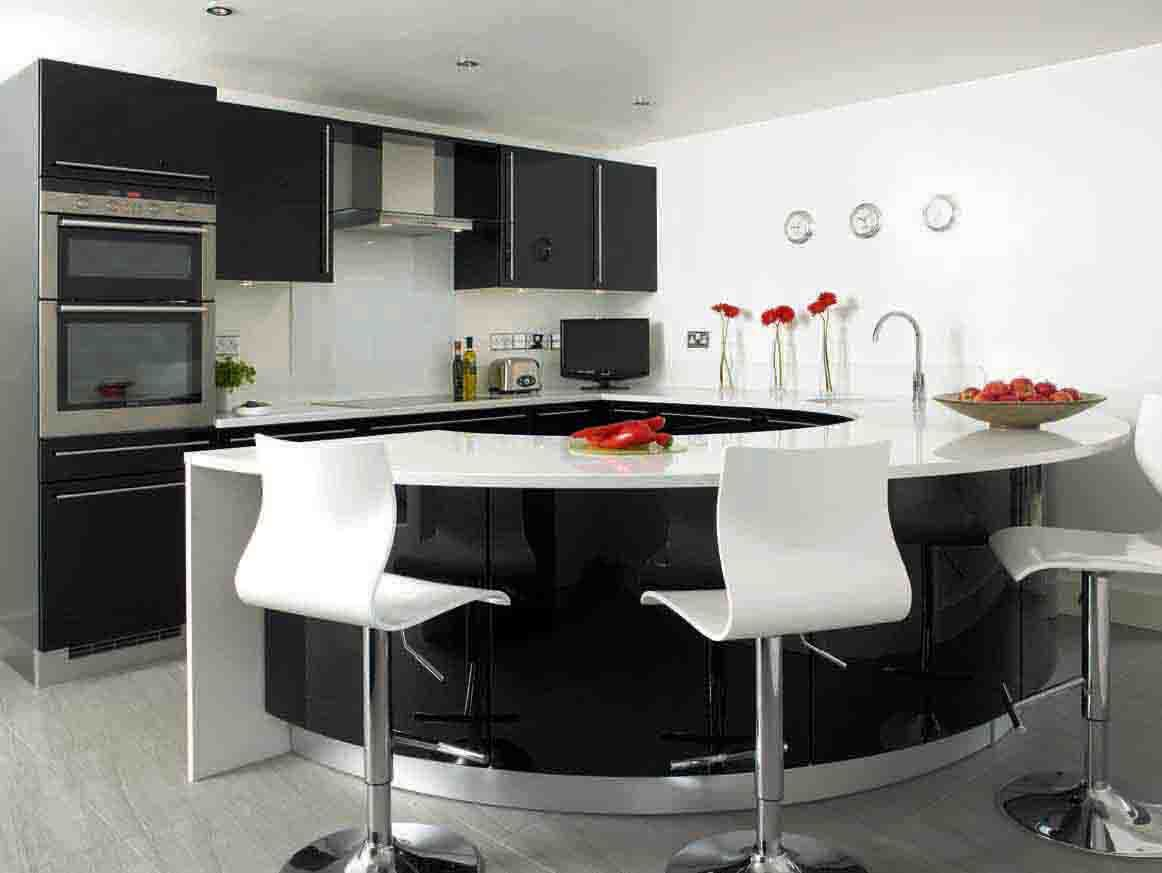 interiores cocinas negras ideas cocinas cocina moderna espacios blanco y negro diseo cocina cocinas pequeas casas