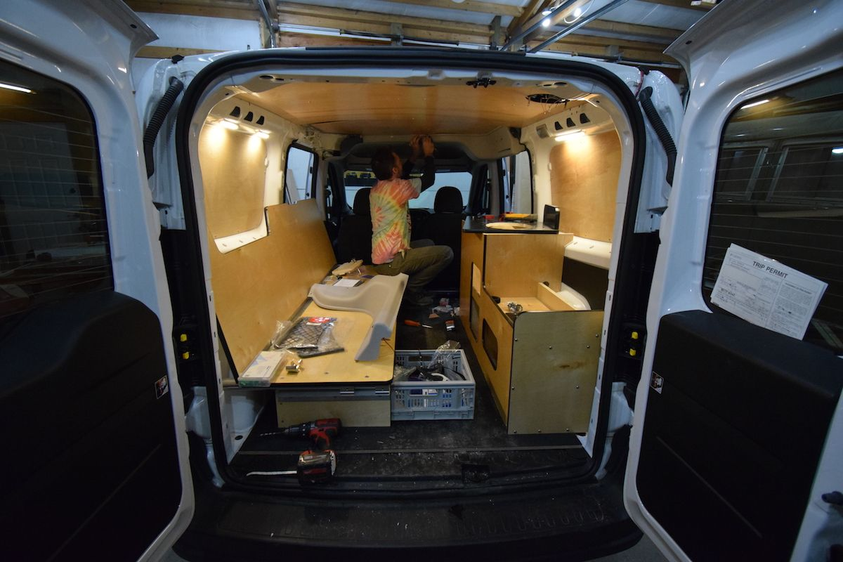 Cascade Campers - $7K for conversion from Ram Promaster City