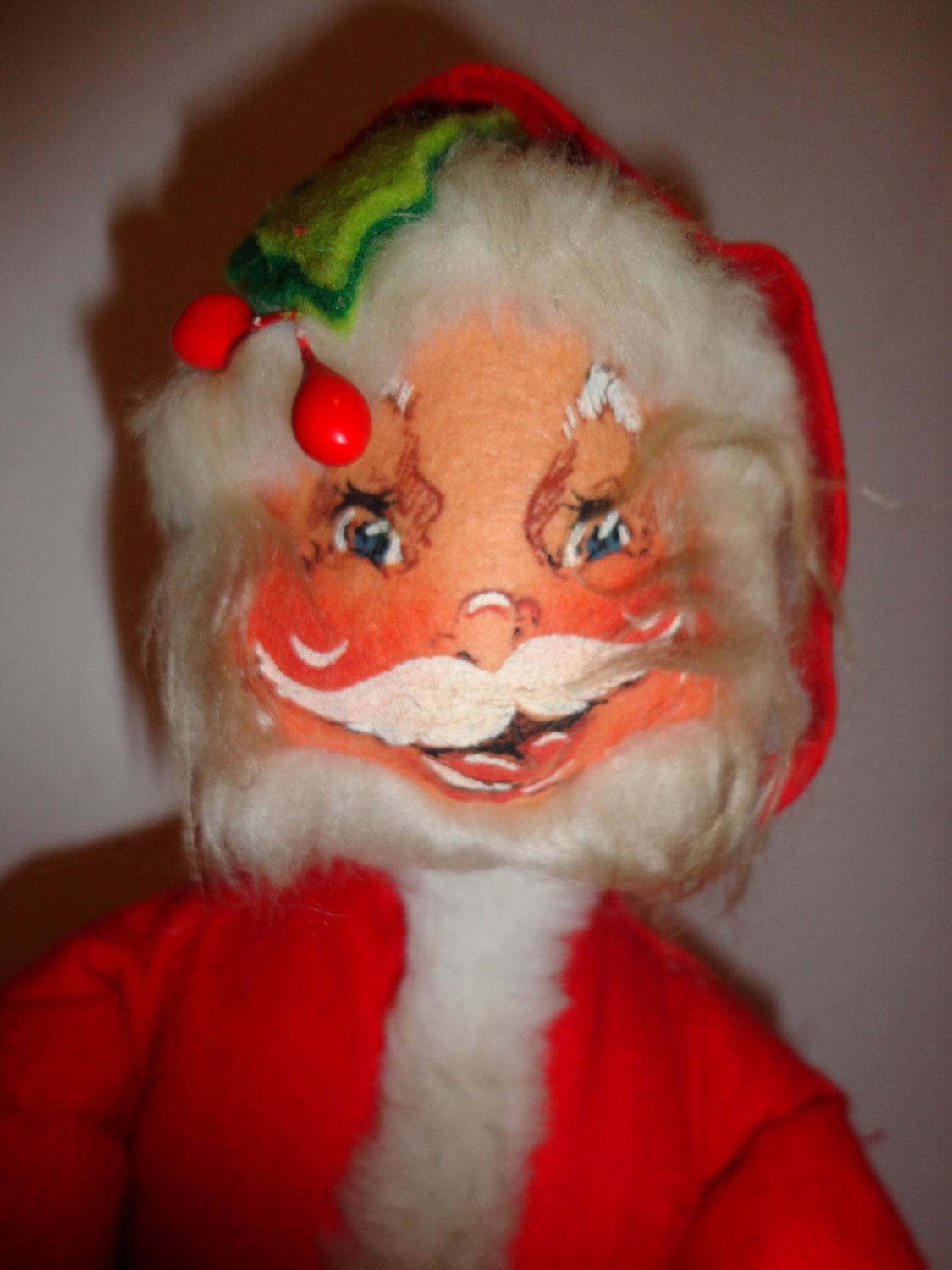 Vintage 1963 ANNALEE Mobilitee Christmas SANTA CLAUS doll | Projects ...