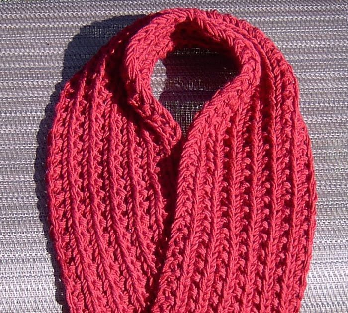 Easiest Farrow Rib Scarf This One Is Dead Easy Really Easy Yet Fun