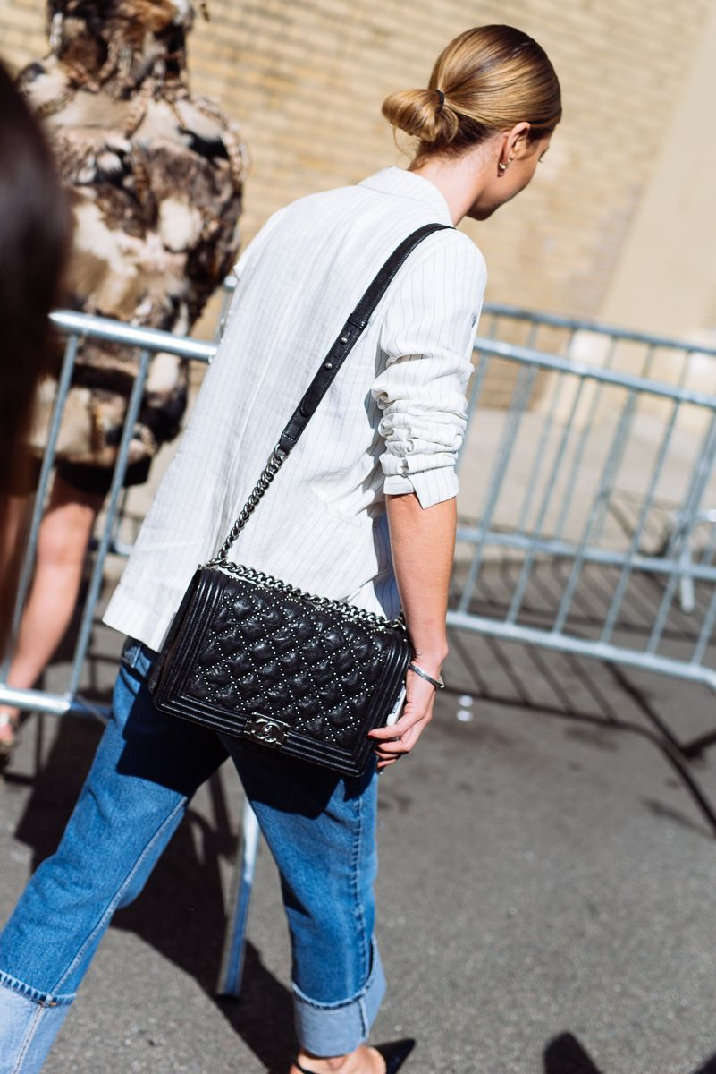 0b19acfdd88d The Best Bags of NYFW Spring 2016 Street Style – Days 7. Check out all of  the best designer ...
