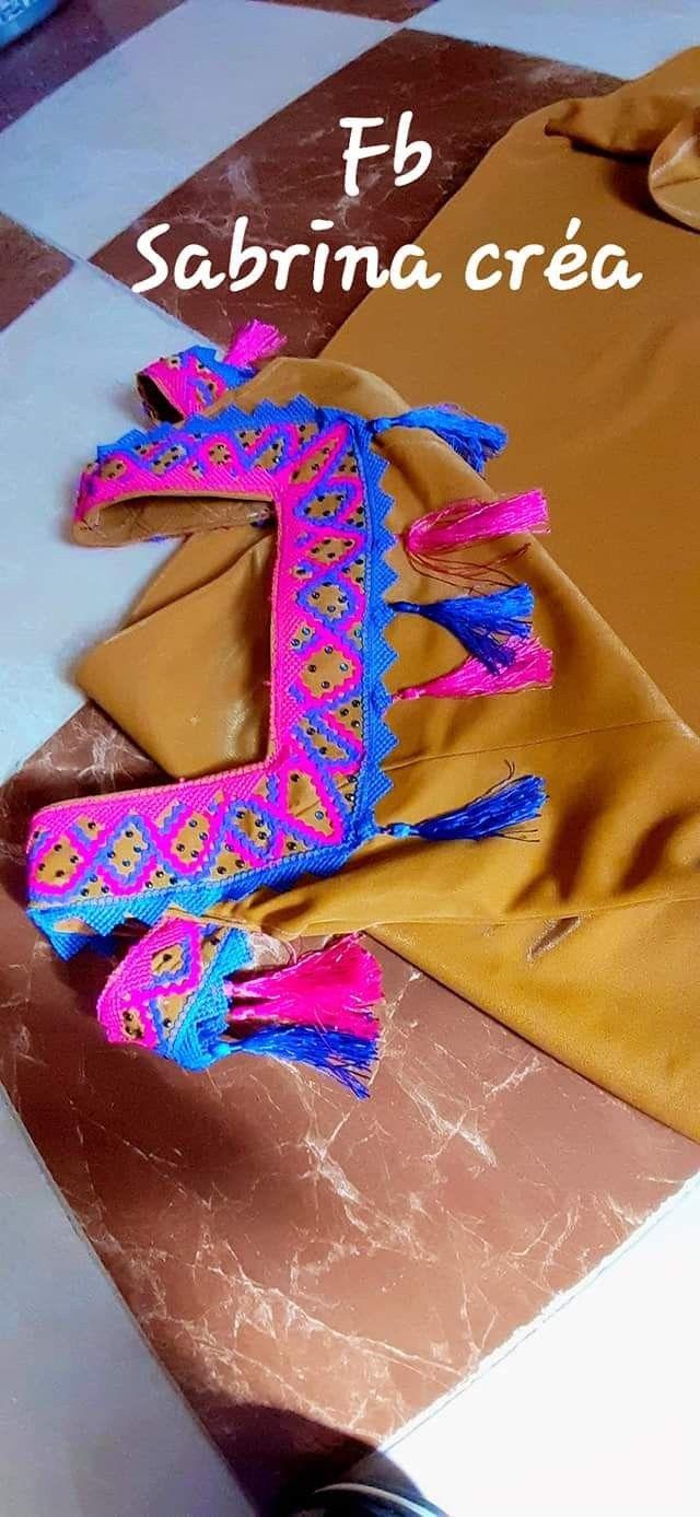 Pin By Amira On جبة Biais Galon Arab Fashion Couture Runway Sewing