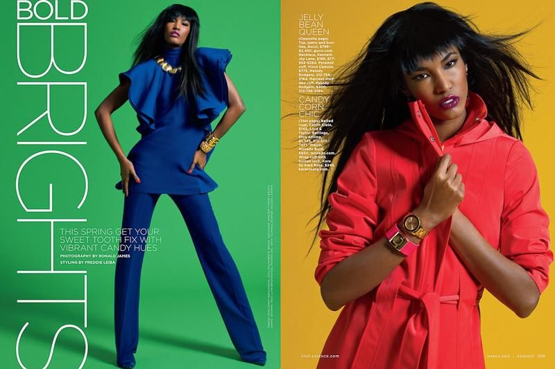 Essence Magazine : Bold Brights