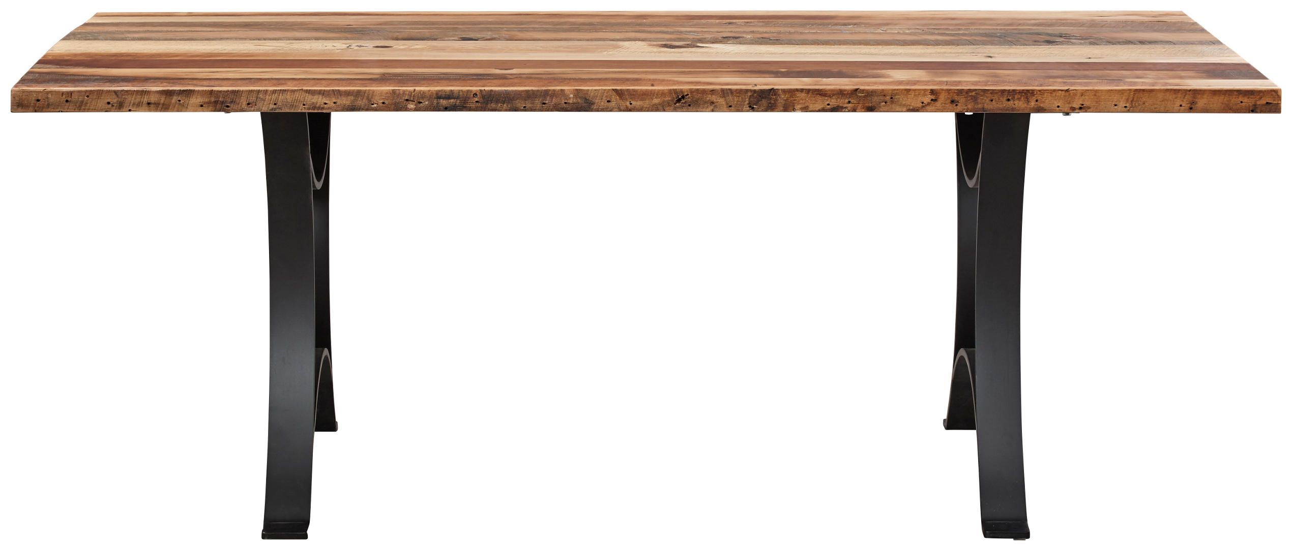 The Authentics Dining Table Is Constructed In Reclaimed Barnwood