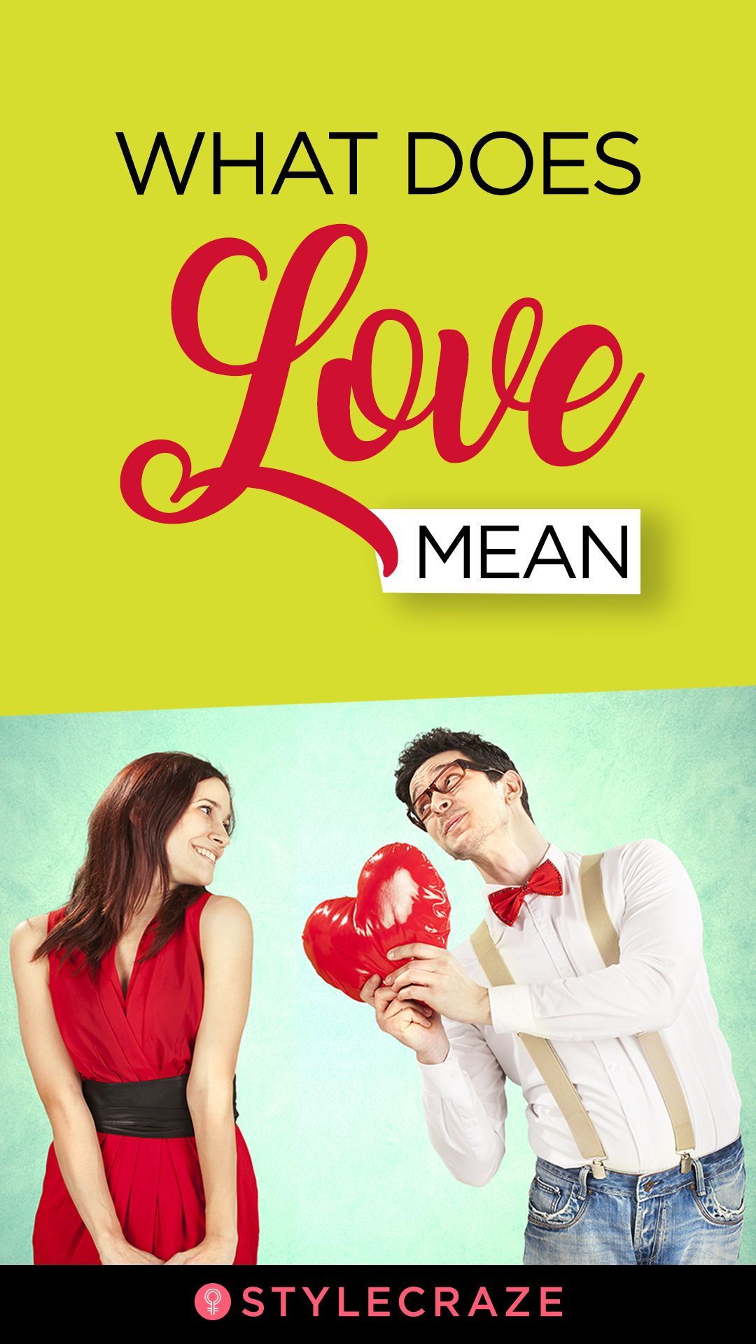 what does relationship mean in love