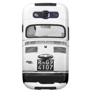 Fiat 500 in Rome, Italy. Samsung Galaxy SIII Cases #CommDelCh1