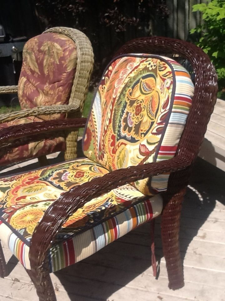 Wicker Chairs Covers