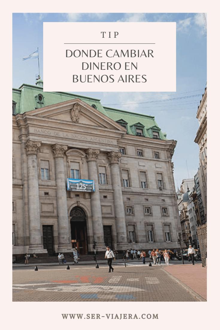 Infórmate bien sobre la economía en Argentina antes de viajar! Lee este post para saber cómo y dónde cambiar tu dinero #buenosairestravel #buenosairesargentina #dineroargentina #viajesbaratos #serviajerablog
