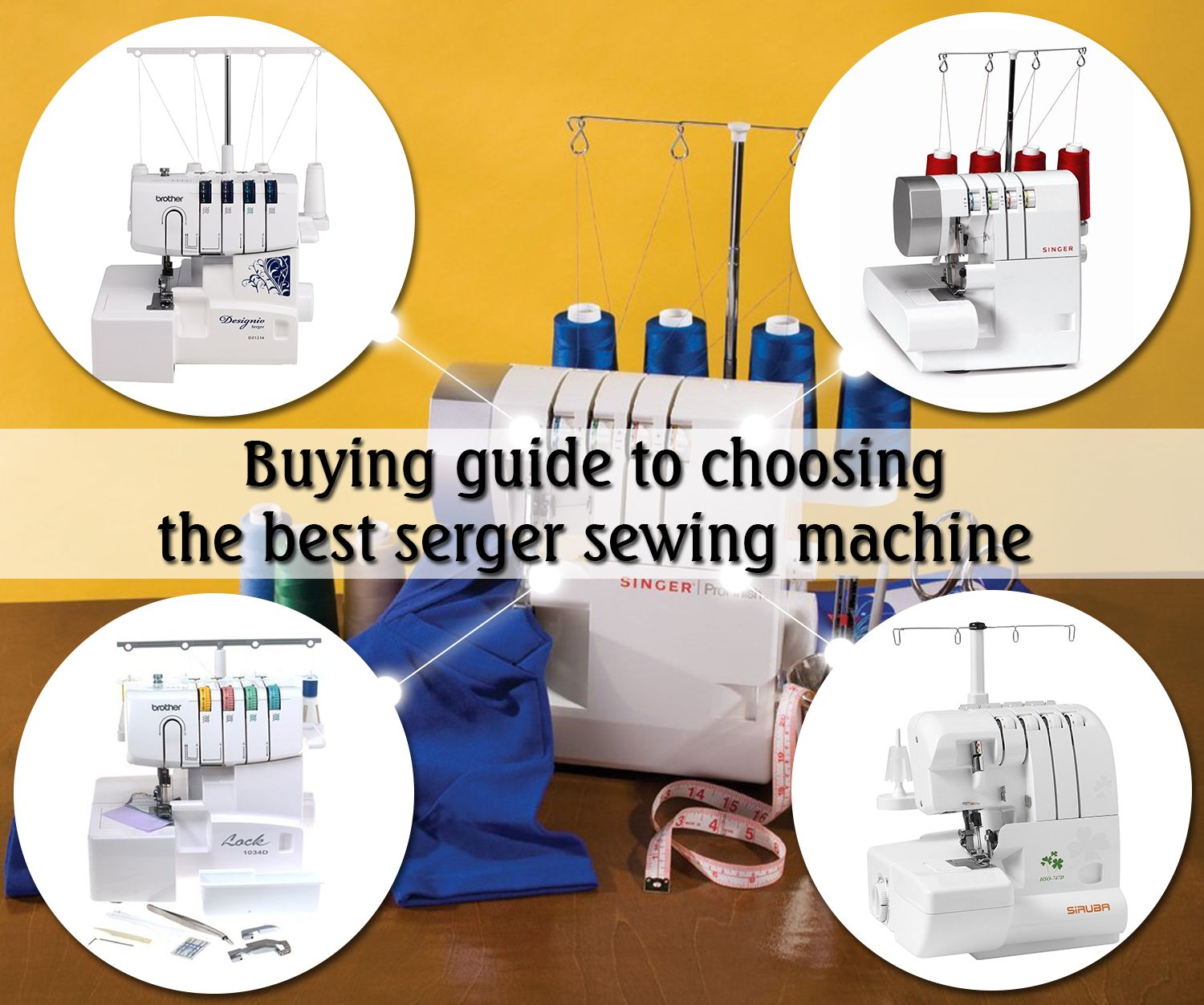 Buying guide to choosing the best serger sewing machine ...