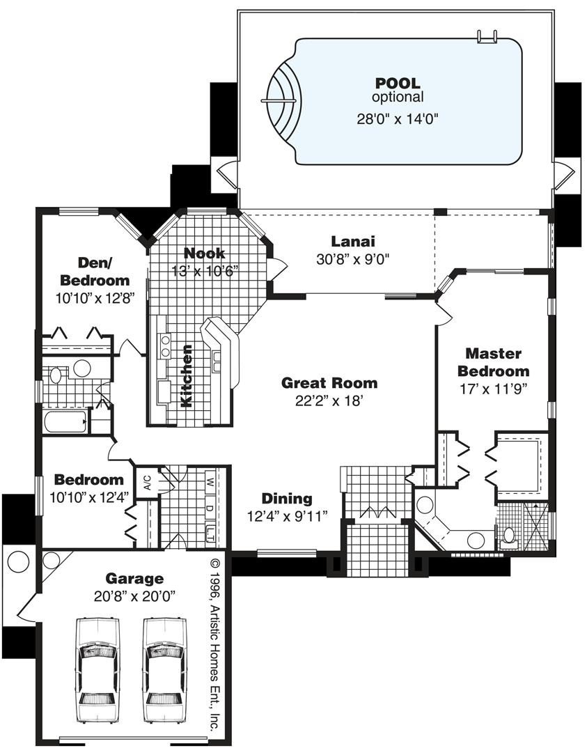 Versailles Florida House Floor Plan House Design Plans Choice Image Floor Plans House Floor Plans Floor Plan Design