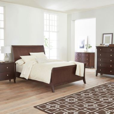 Townsend bedroom collection found at jcpenney king size for Bedroom furniture jcpenney