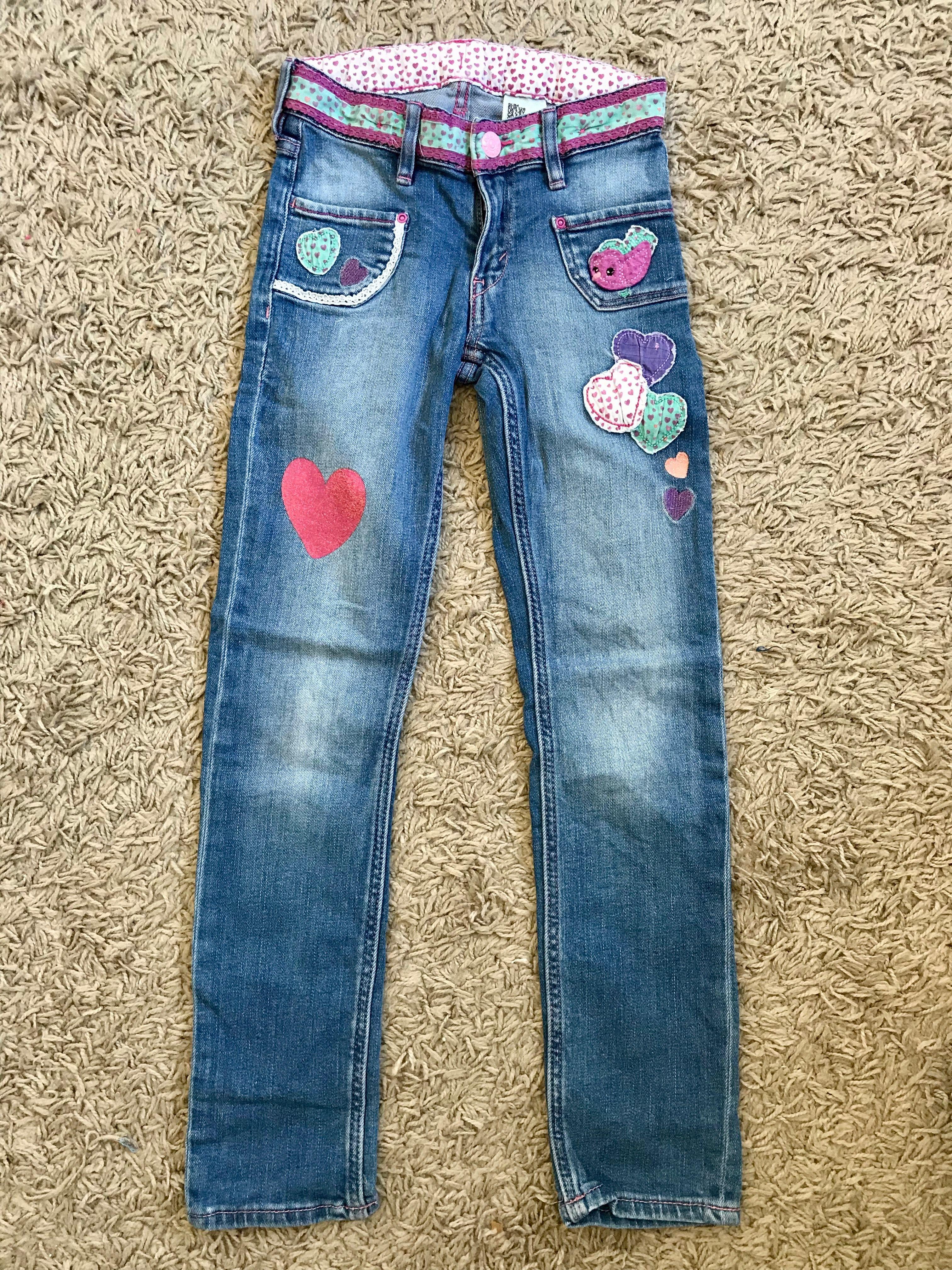 Joli jeans H&M pour fille 7 ans #hm   Legging motif