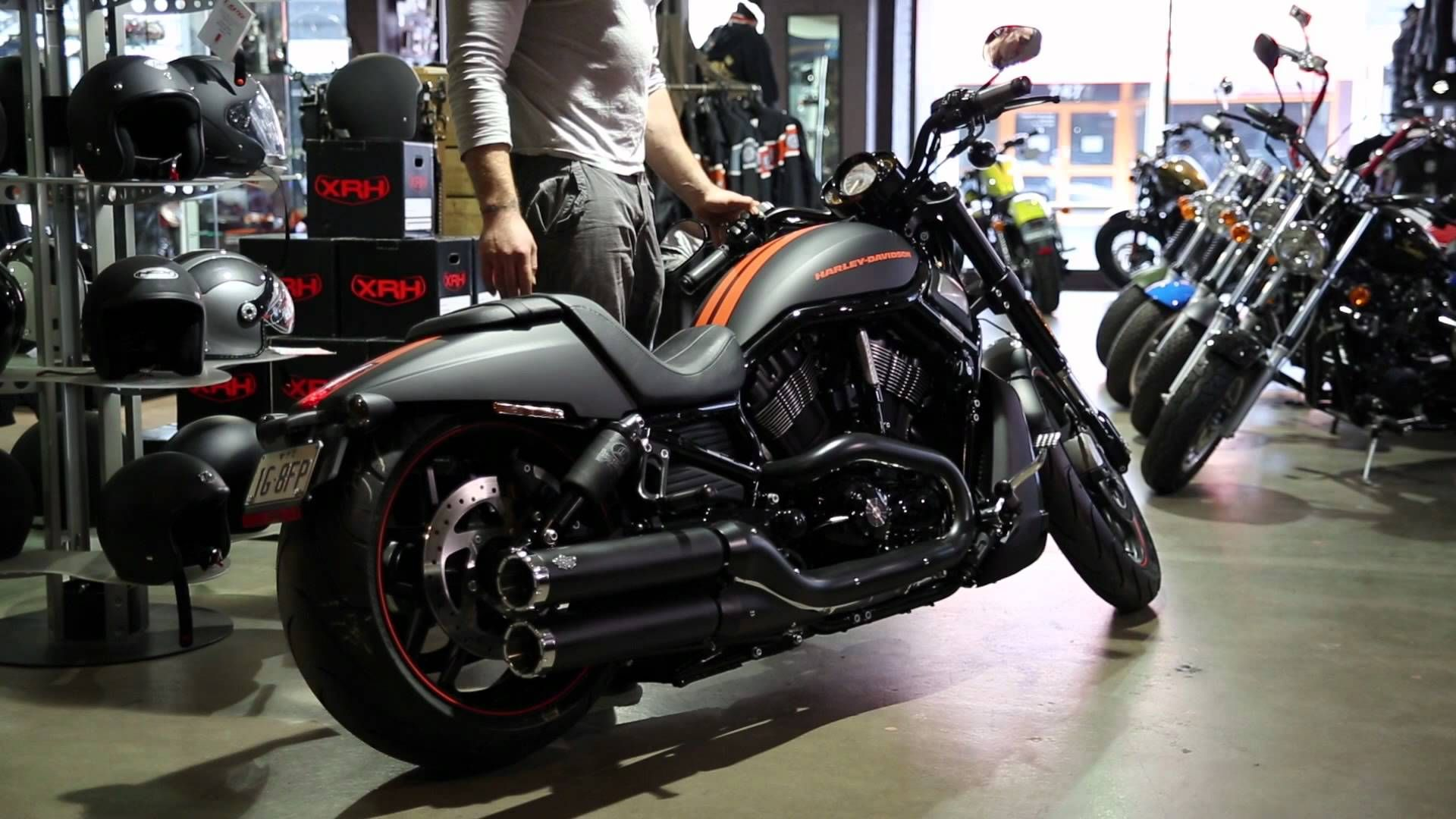 Harley City testing out the 2013 Night Rod Special with