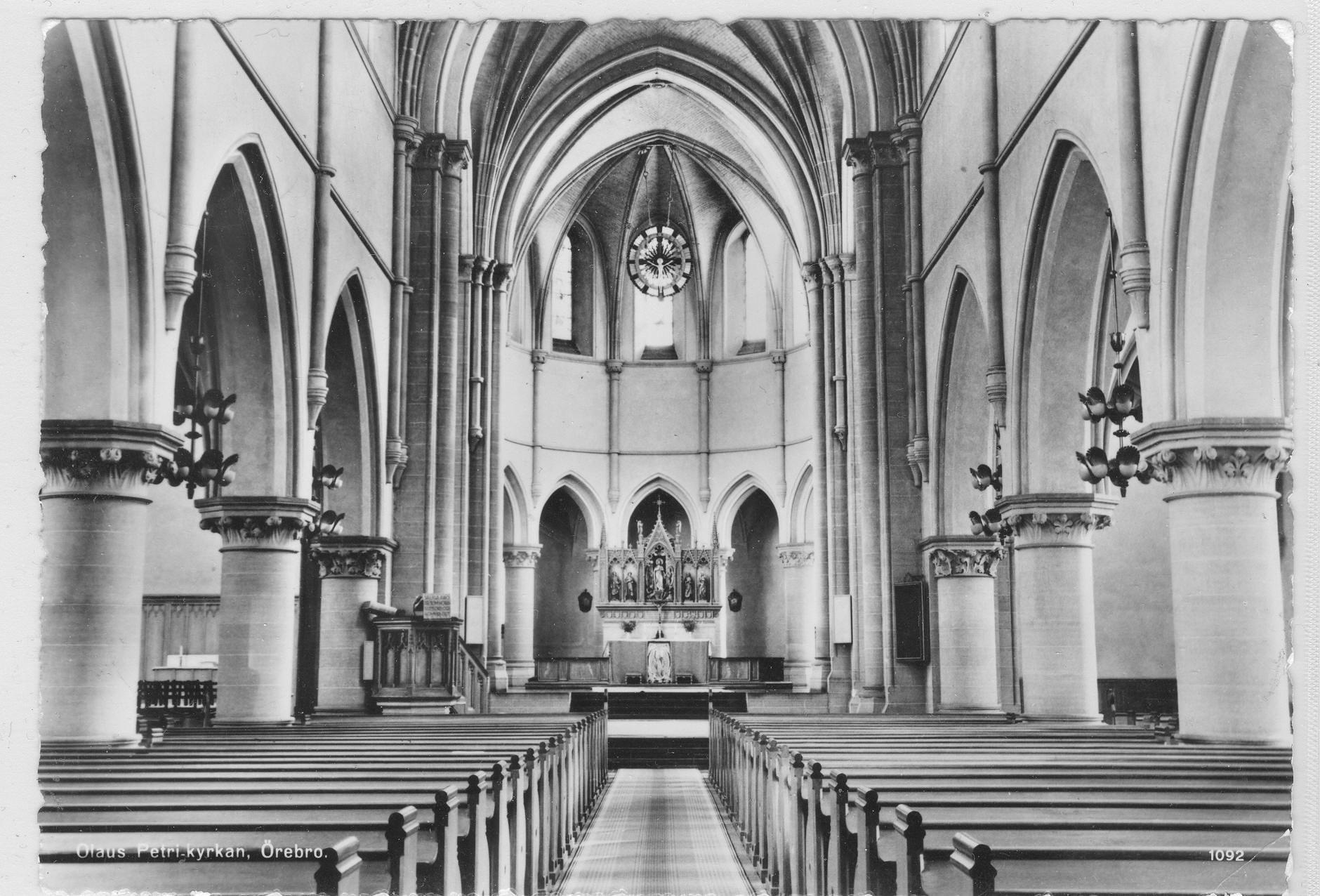 Olaus Petri frsamling, Svenska kyrkan i rebro - Post