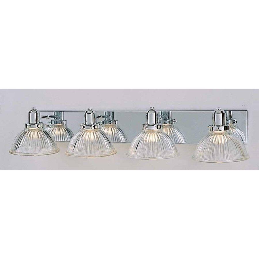 Volume Lighting 4 Light Chrome Bathroom Vanity Chrome V1304 3
