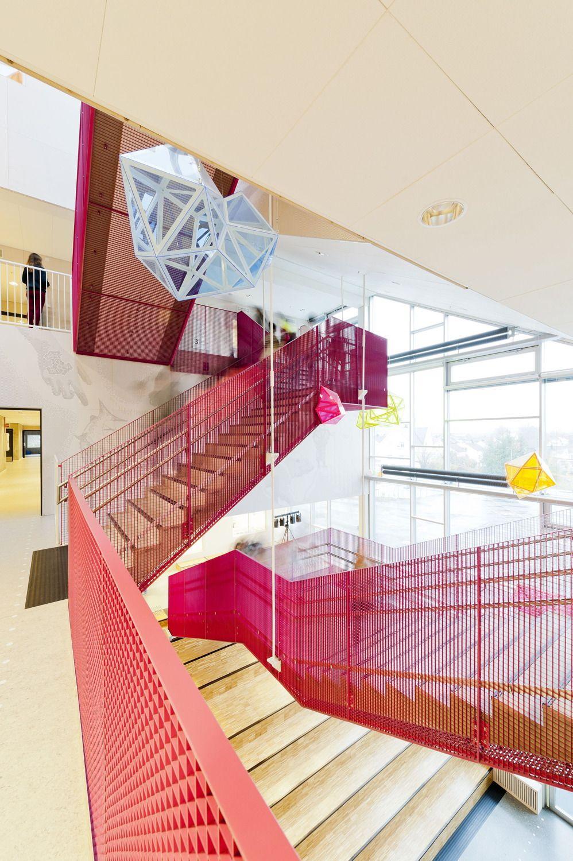 Norwegische Schule Von CEBRA / Hölzerner Schimmer   Architektur Und  Architekten   News / Meldungen / Nachrichten   BauNetz.de