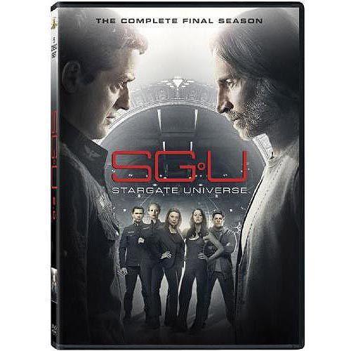 Sg U Stargate Universe The Complete Final Season Dvd Walmart Com Stargate Universe Stargate Stargate Atlantis