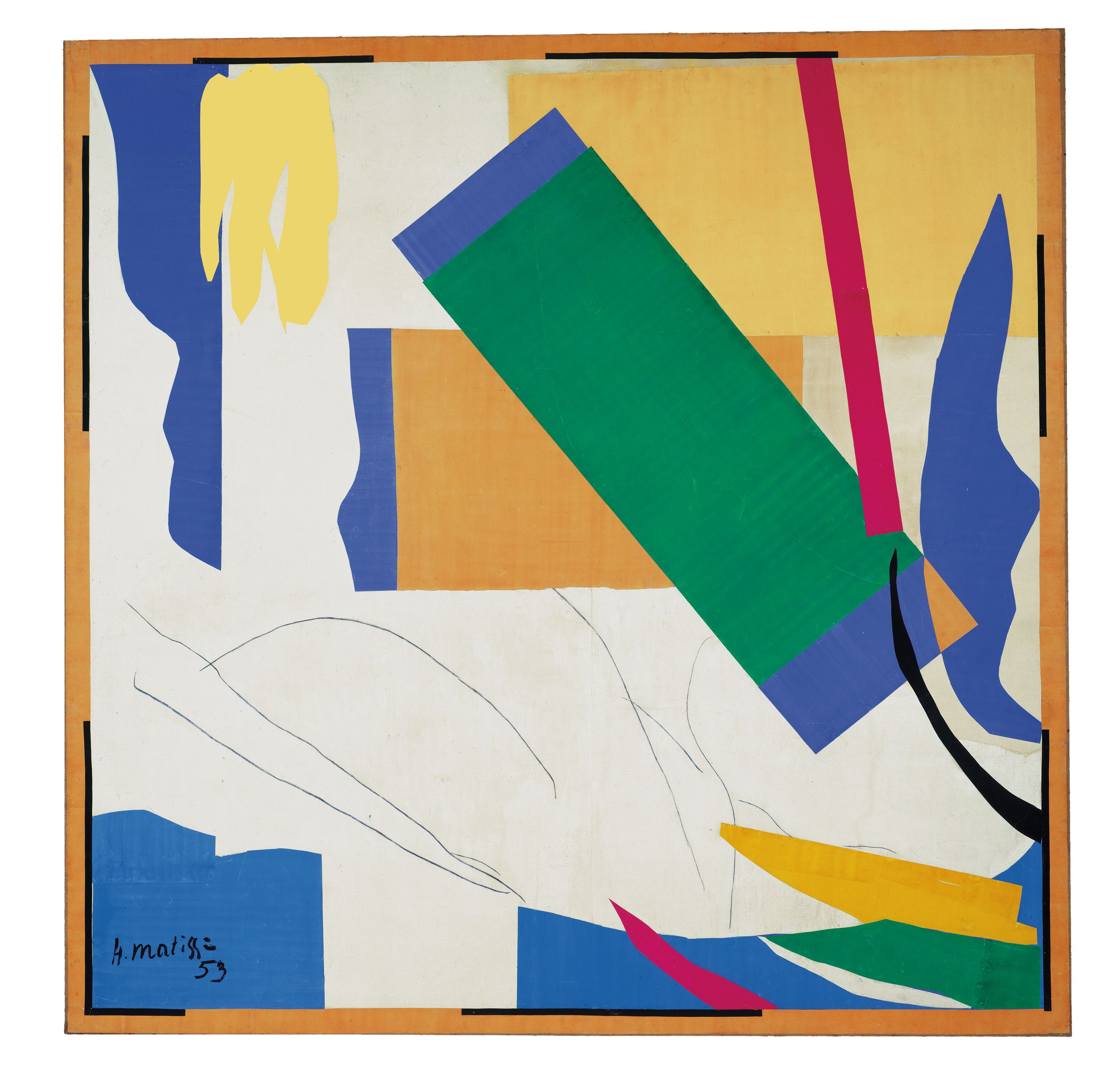 Matisse's Cut-Outs at the Tate Modern #goopsee
