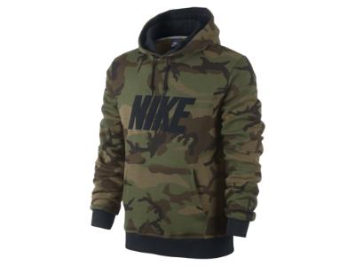 Nike Club Woodland Camo Pullover Hoody