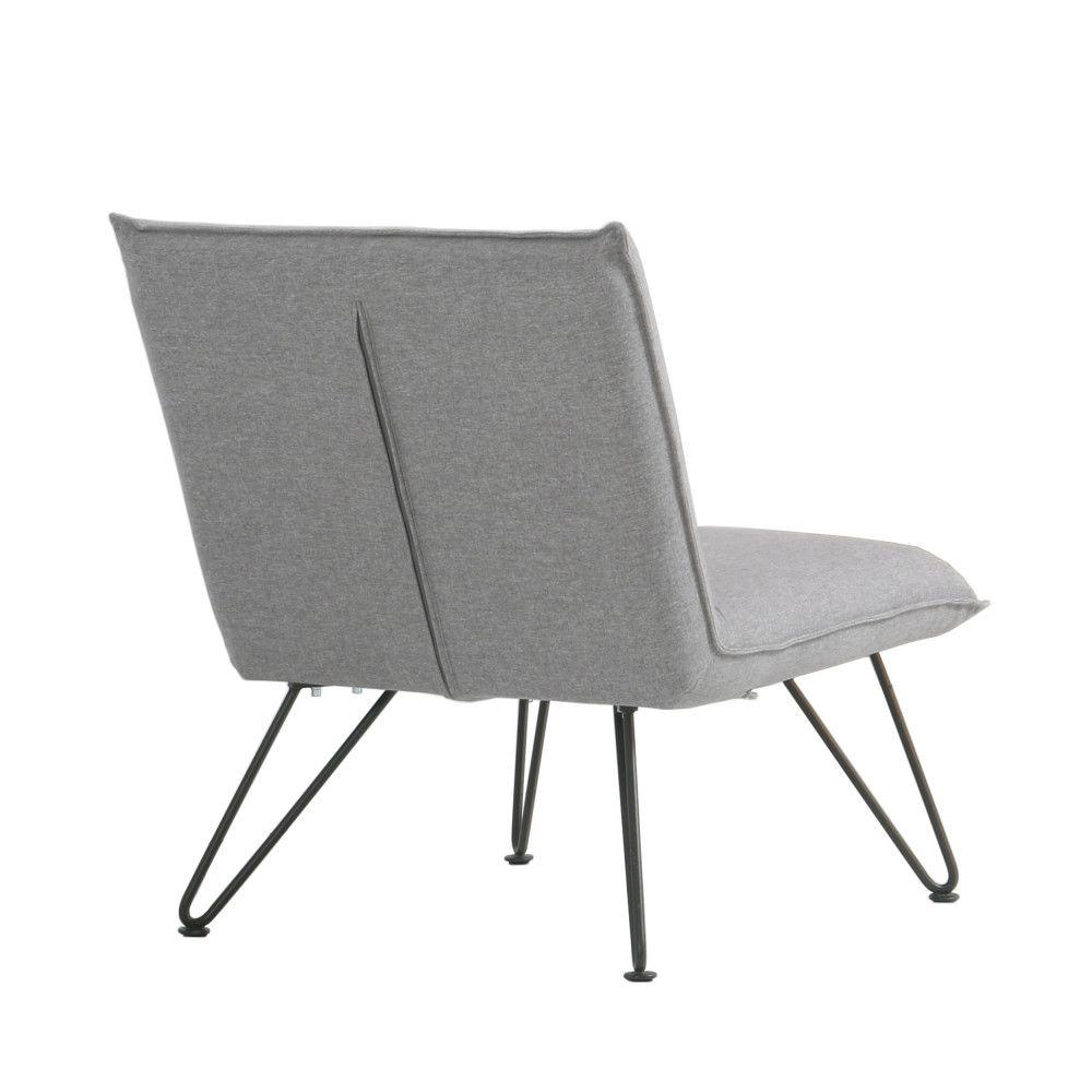 Impressionnant Fauteuil Design Gris Décoration Française - Fauteuil gris design