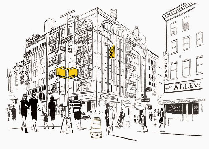 Jason Brooks New York Sketchbook Laurence King Publication