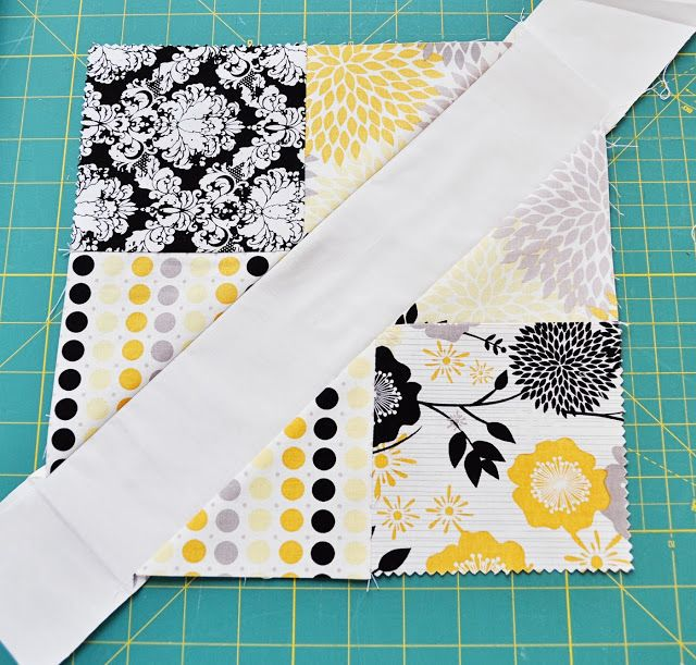 4-Patch Slice Free Quilt Pattern and Tutorial. | Quilt Block ... : 4 patch quilt patterns free - Adamdwight.com