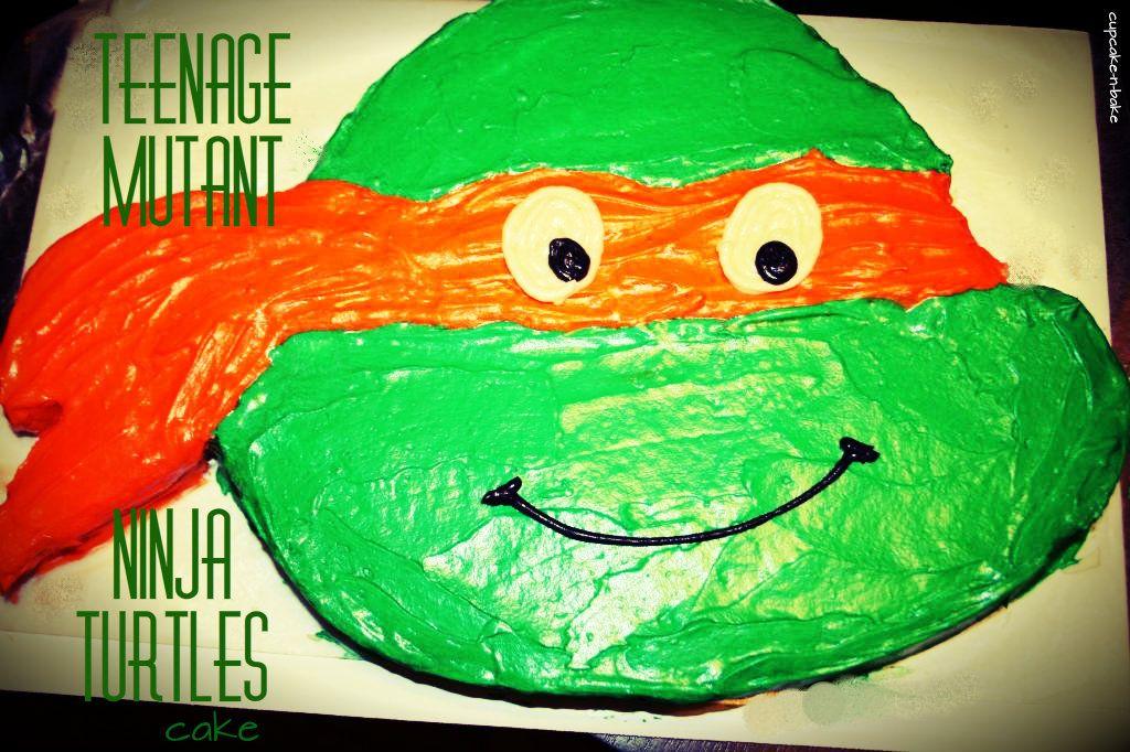 Teenage Mutant Ninja Turtles Birthday cake for a birthday