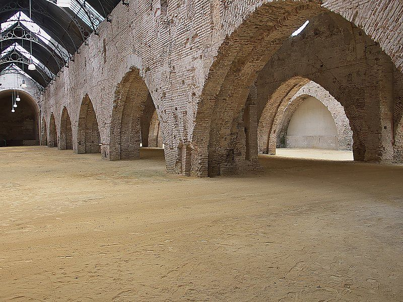 Game of Thrones filming location Seville Royal Dockyards
