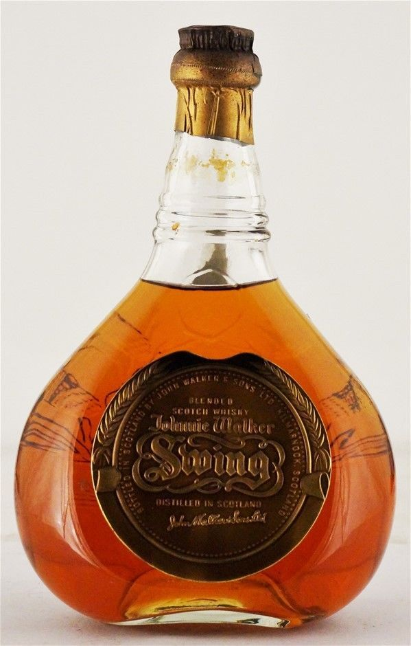 Johnnie Walker `Swing 1960 s` Blended Scotch Whisky (1x700ml), Scotland
