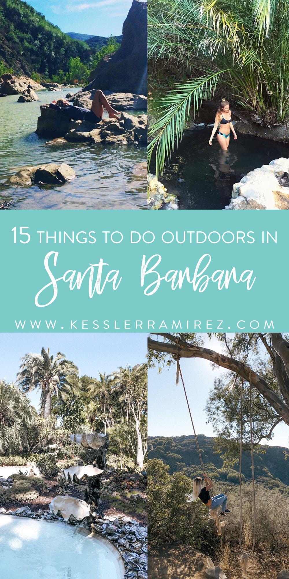 15 Things to Do Outdoors in Santa Barbara | Kessle