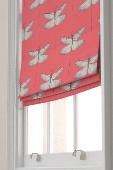 Demoiselle Coral / Mint Roman Blinds by Harlequin | Unicorn Bedroom ...