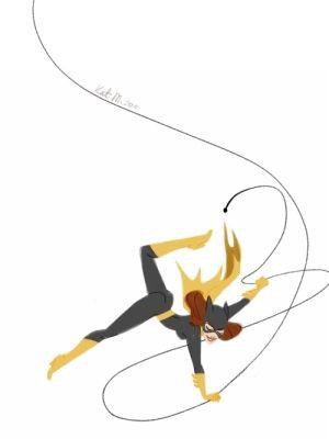 Bat Girl by Kathryn Marusik by myChelsss