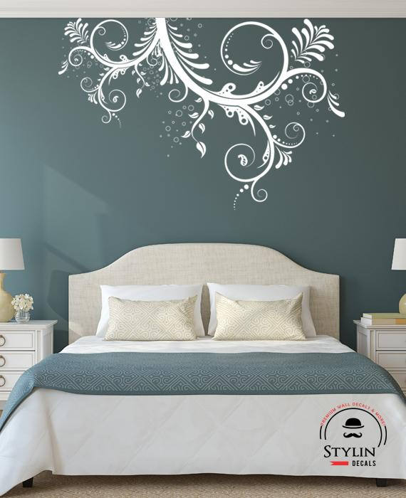 Fun Swirl Wall Decal Vinyl Wall Decal Wall Stickers Wall Decals Living Room Decor Family Room Wall Decoration Bedroom Wall Decor 30x20 Vinyl Wall Decals Family Room Walls Living Room Decor