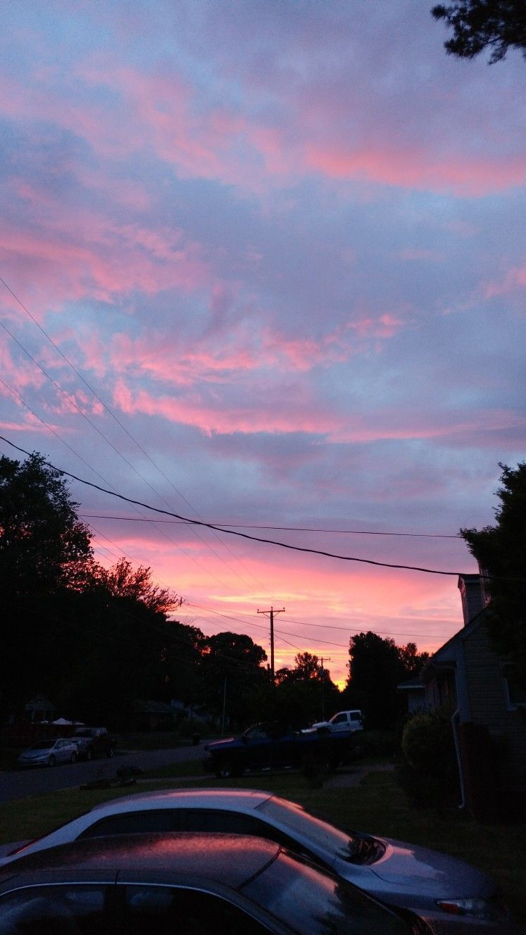 Cotton Candy Skies Aesthetic