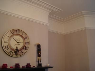 Dulux Mellow Mocha Plus Picture Rail Paint Colours
