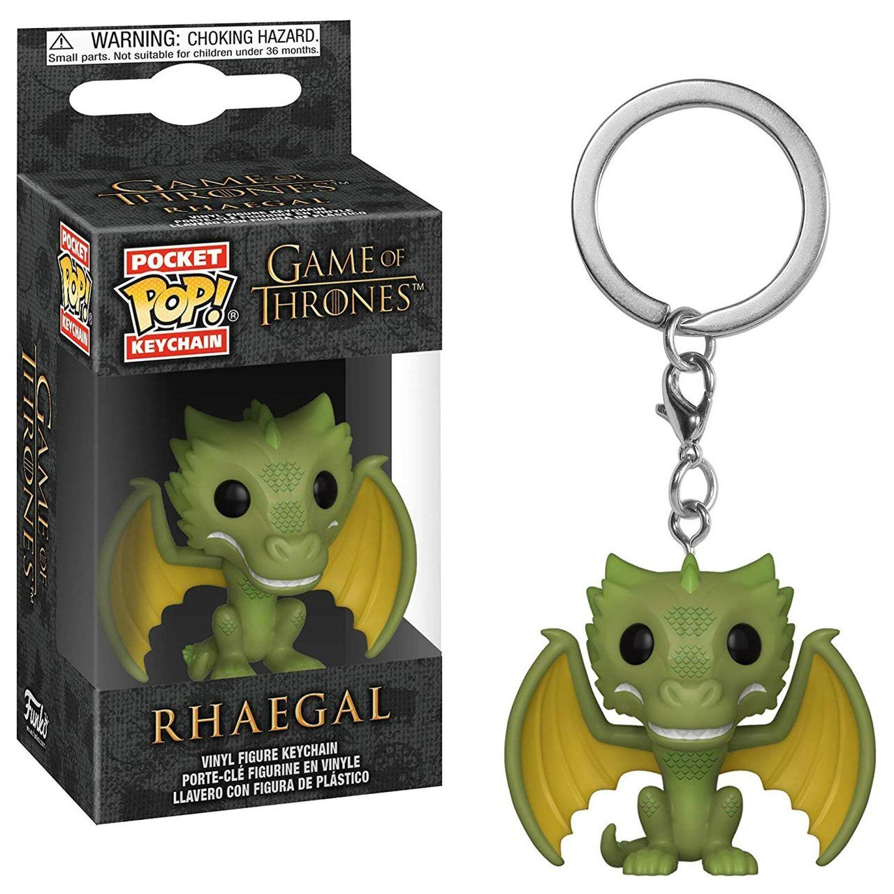 Funko POP Keychains - Game of Thrones - Rhaegal #funkogameofthrones