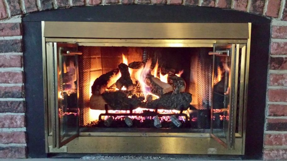 Cost To Convert A Wood Fireplace To Gas Fireplace Gas Fireplace Wood Fireplace