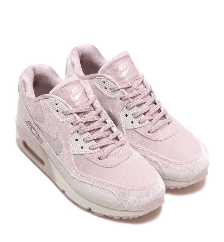 Womens Nike Air Max 90 LX Particle Rose Velvet Size 6 898512