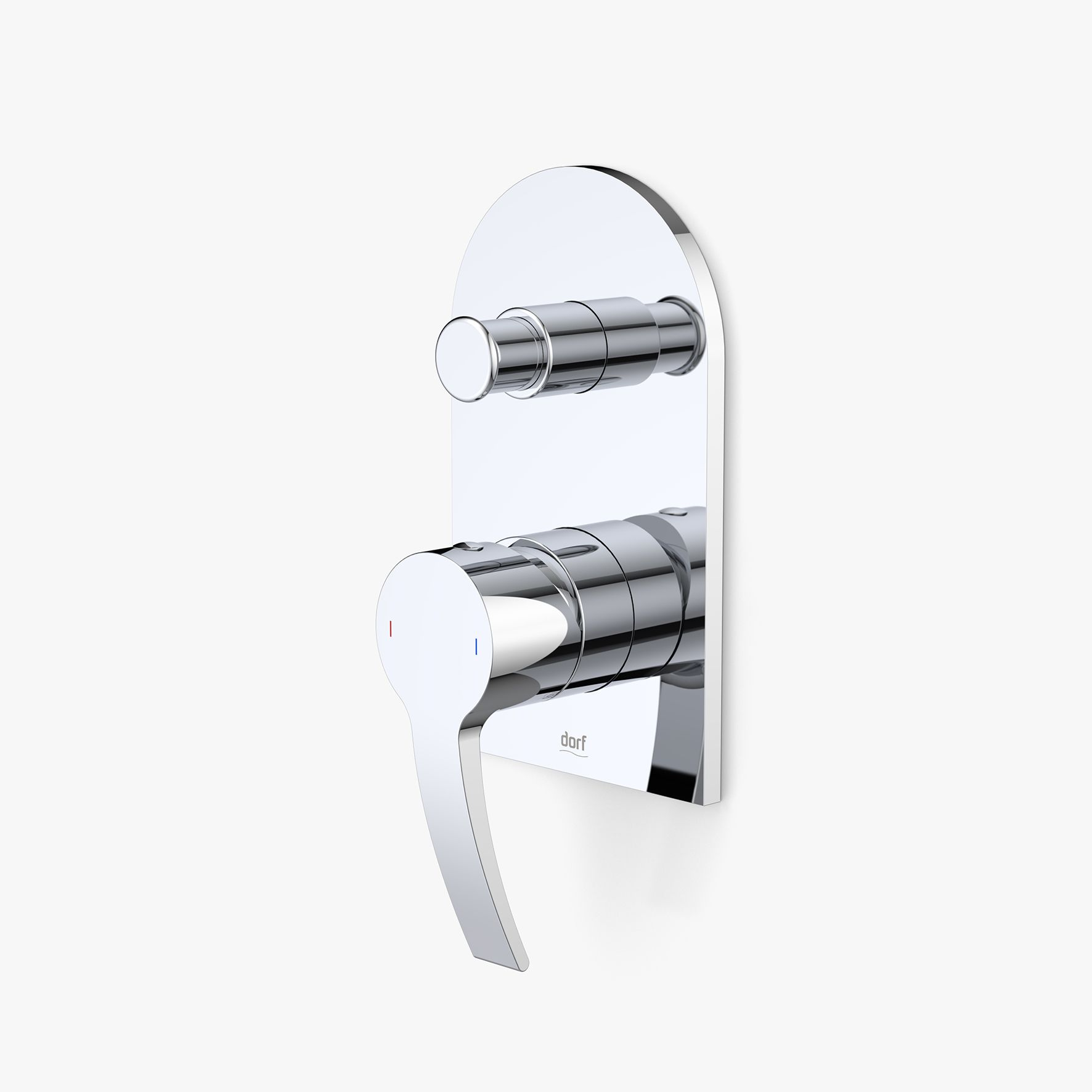Whirl Bath Shower Mixer with Diverter